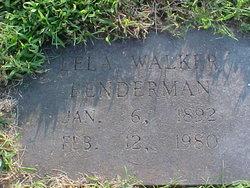 Lela <i>Walker</i> Benderman