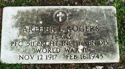 PFC Arthur Lowe Rogers