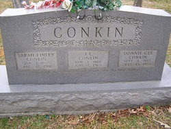 Donnie Beulah <i>Gee</i> Conkin