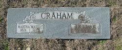 Martha Celia Mattie <i>Turner</i> Graham