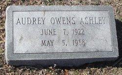 Audrey <i>Owens</i> Ashley