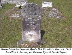 Samuel Ephrim <i>Frierson</i> Byrd