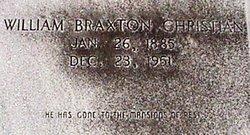 William Braxton Christian