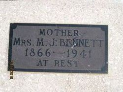 Mary Jane <i>Allgood</i> Bennett