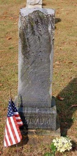 Capt William Grayum