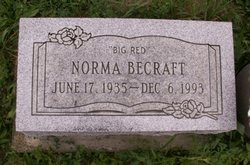 Norma Big Red Becraft