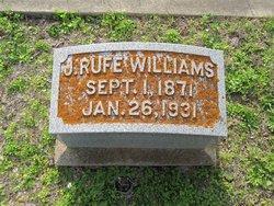 John Ruthven Rufe Williams