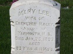 Mary Lee <i>Scott</i> Haley