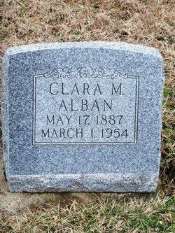Clara May <i>Beckner</i> Alban