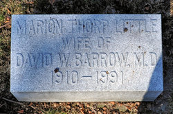 Marion Thorp <i>Little</i> Barrow