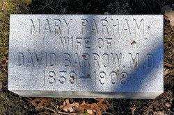 Mary <i>Parham</i> Barrow