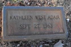 Kathleen <i>West</i> Adair