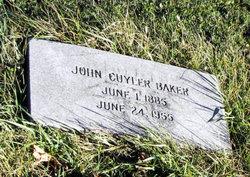 John Cuyler Baker