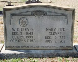 Mary Malinda <i>Fite</i> Glover