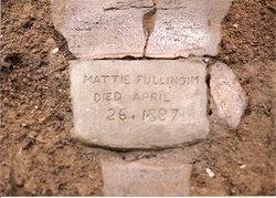 Martha Ann Mattie <i>Golden</i> Fullingim