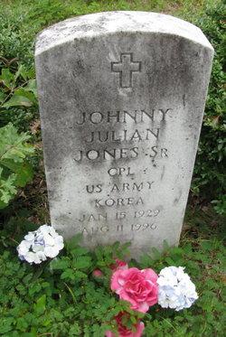 Johnny Julian Jones, Sr