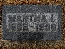 Martha I <i>Thompson</i> Connet
