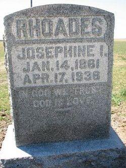 Josephine <i>Hetrick</i> Rhoades