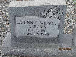 Johnnie Wilson Abrams