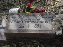 Theresa Virginia <i>Harding</i> Horne