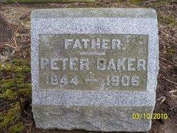 Pvt Peter Baker