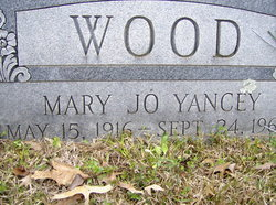 Mary Jo <i>Yancey</i> Wood