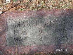 Mabel <i>Criffield</i> Aden