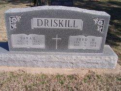 Sarah E <i>McCamey</i> Driskill