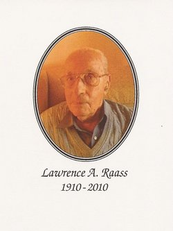 Lawrence A Raass