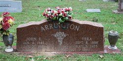Vera A <i>Deaton</i> Arrington