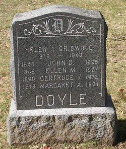 Gertrude V Doyle