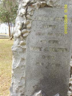 Mrs Mary Jane <i>McDougall</i> Baldwin