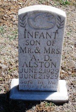 Infant Son Alston