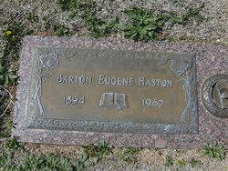 Barton Eugene Haston