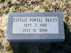 Estelle <i>Powell</i> Bailey