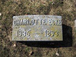 Charlotte <i>Timm</i> Ecke