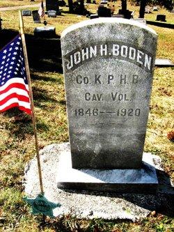 Corp John H Boden