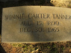 Winnie Charlotte <i>Carter</i> Tanner