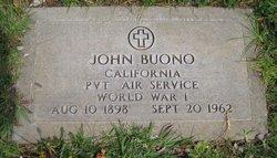 Pvt John Buono