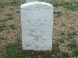 Barry Allen Sadler