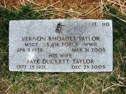 Faye <i>Duckett</i> Taylor