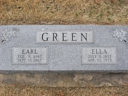 Ella Marie <i>Ferris</i> Green