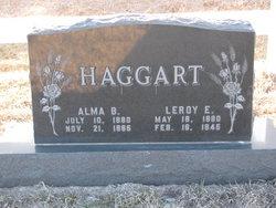 Alma Blanche Haggart