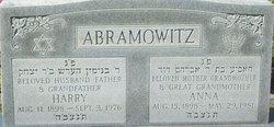 Harry Abramowitz