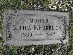 Sophia Ruth <i>Bush</i> Harrison