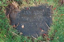 Ruth Ann <i>Thompson</i> Abbott