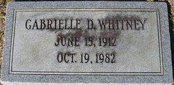 Gabrielle D Whitney
