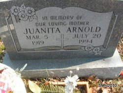 Anna Juanita <i>Cook</i> Arnold
