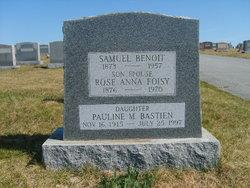 Rose Anna <i>Foisy</i> Benoit