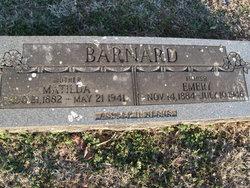 Laura Matilda <i>Grigsby</i> Barnard